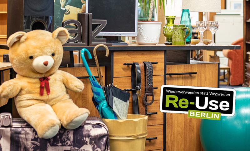 Tipp 5: Sa, 5.10., 10 bis 16 Uhr: Re-Use-Verkaufstag im Sozialkaufhaus Help, Helle Mitte | © SenUVK /PEPERONI