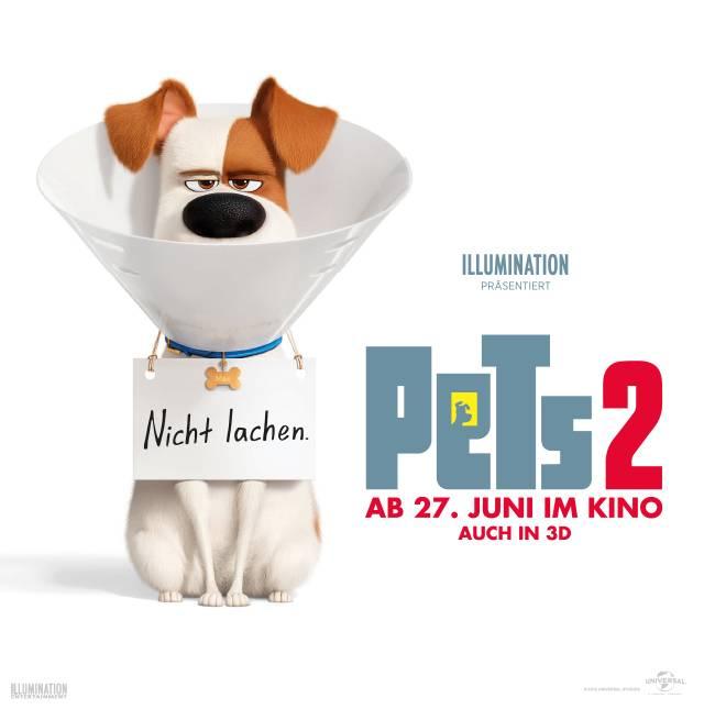 Tipp 8: Kino für die ganze Familie. Pets 2, Animationsfilm (2019). Sa, 17.8., 16.05 Uhr + So, 18.8., 16 Uhr, Kino Kiste, Heidenauer Straße 10, 12627 Berlin, Eintritt: 7 € für Erwachsene, 5 € für Kinder, © Universal Filmverleih