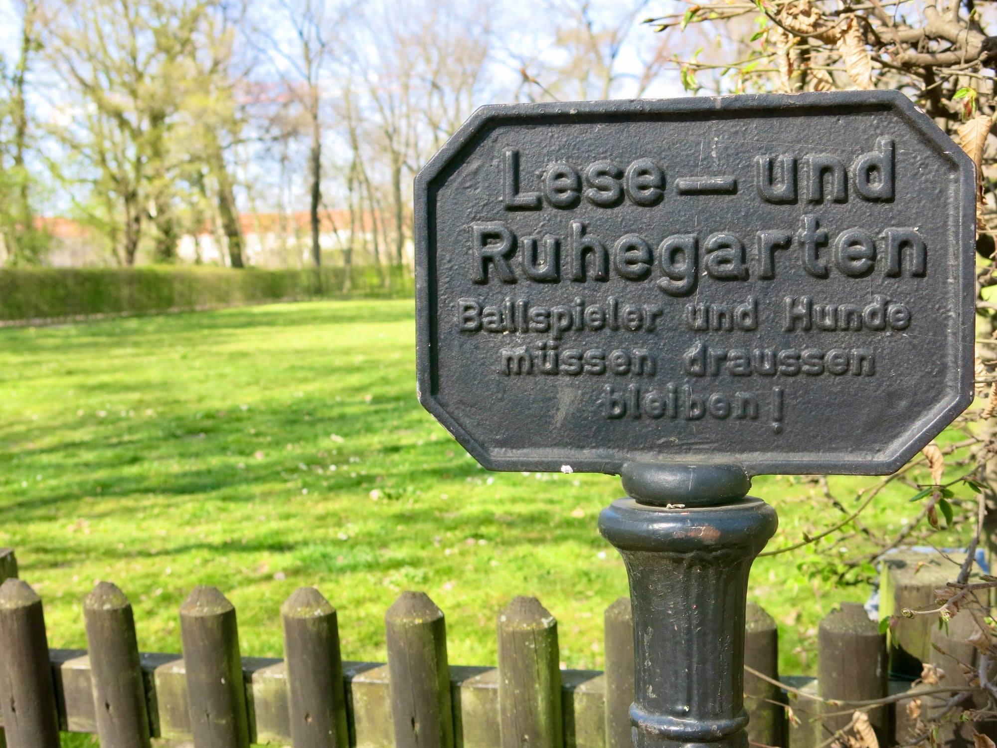 So, 13.06., 11.00 Uhr: Sonntagskonzert im Lesegarten des Biesdorfer Parks