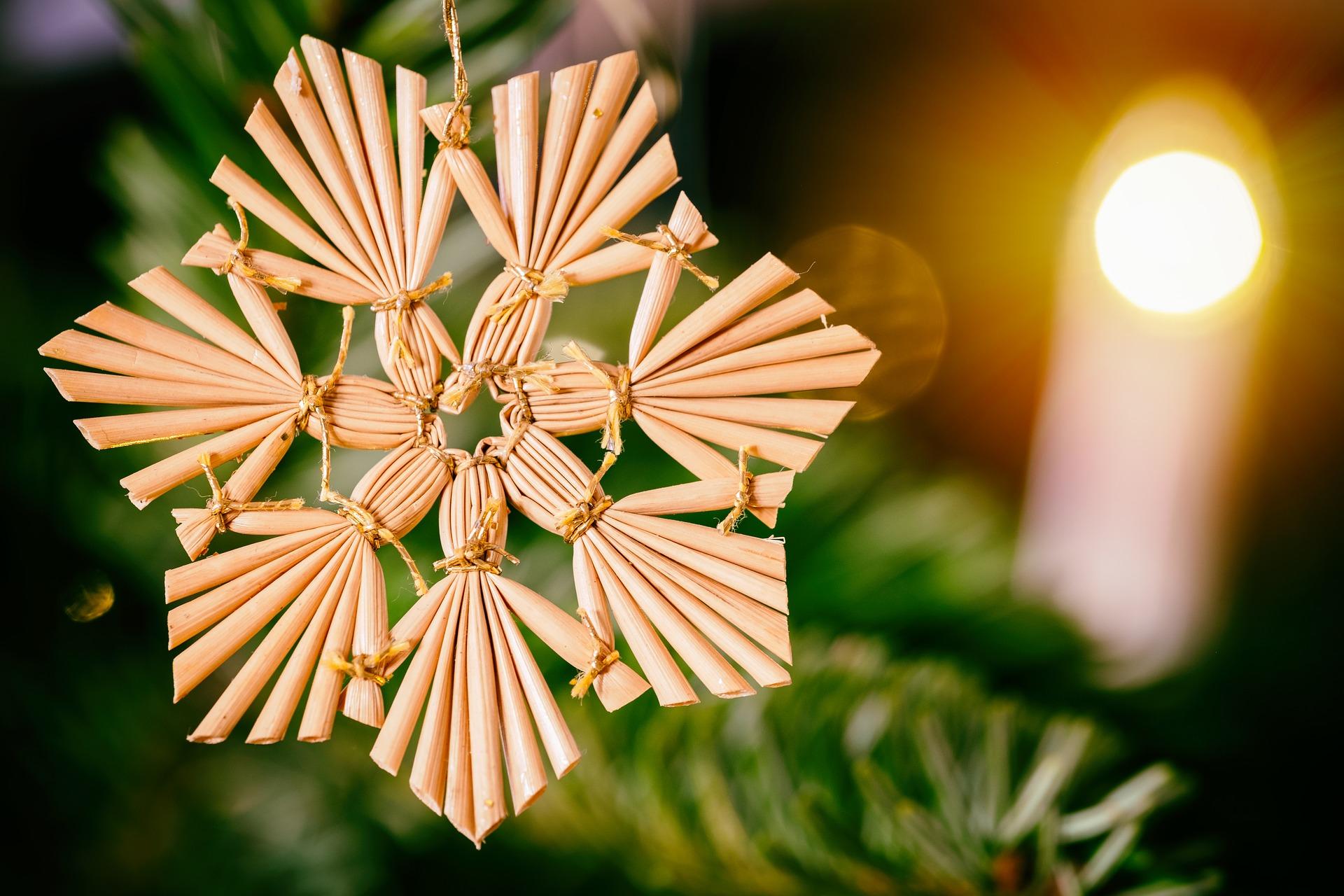 Do, 19. Dezember, 15 Uhr: Strohsterne basteln im Freilandlabor Marzahn, Torgauer Straße 6 | © Bruno Glätsch, Pixabay