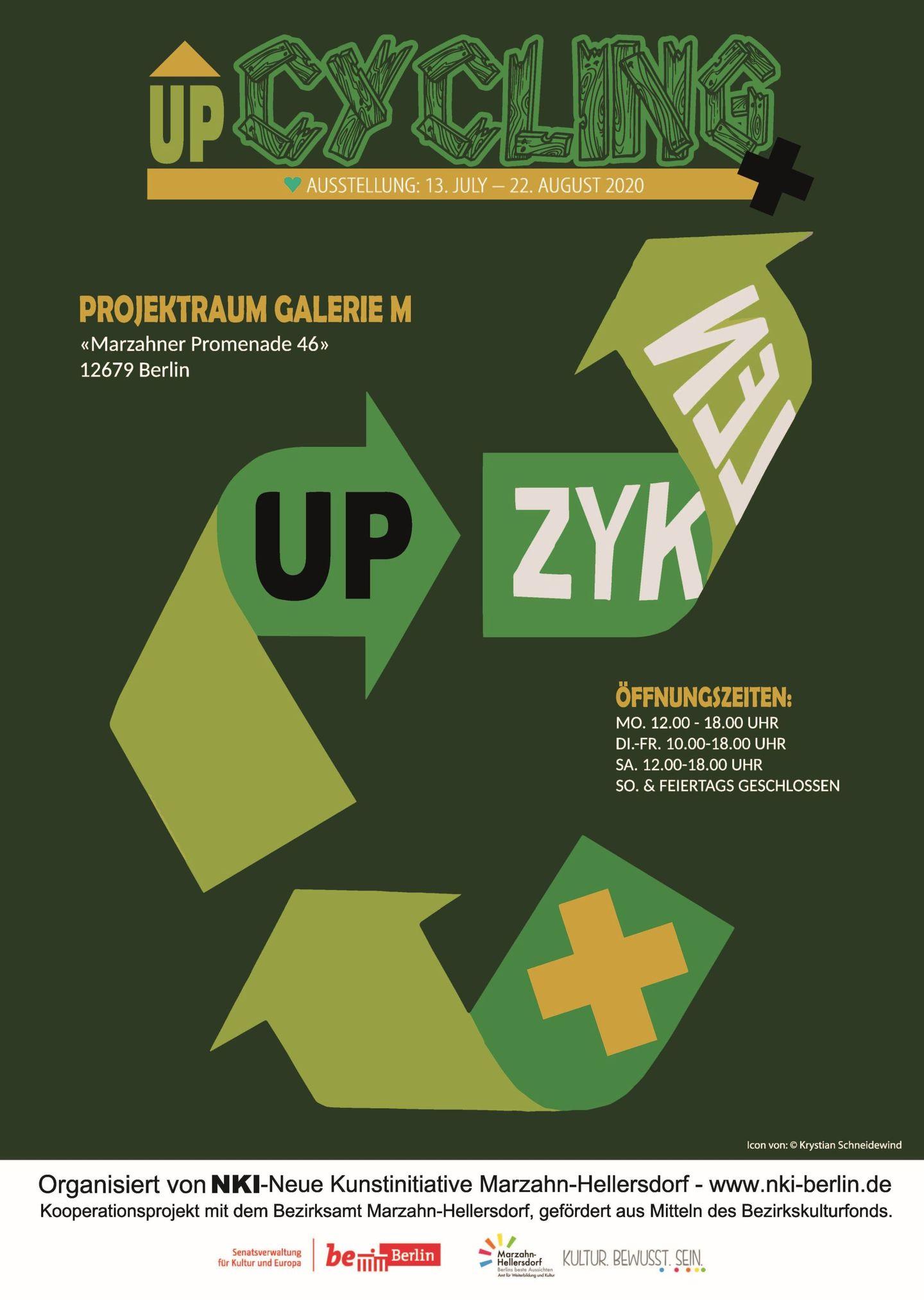 Fr/Sa: Ausstellung zum Thema Upycling-Kunst im Projektraum Galerie M