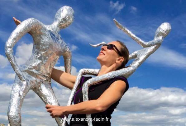 "Performance Alexandra Fadin ""La Matière en Mouvement"" / Sculpture en Balade"