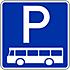 Bus Parkplatz
