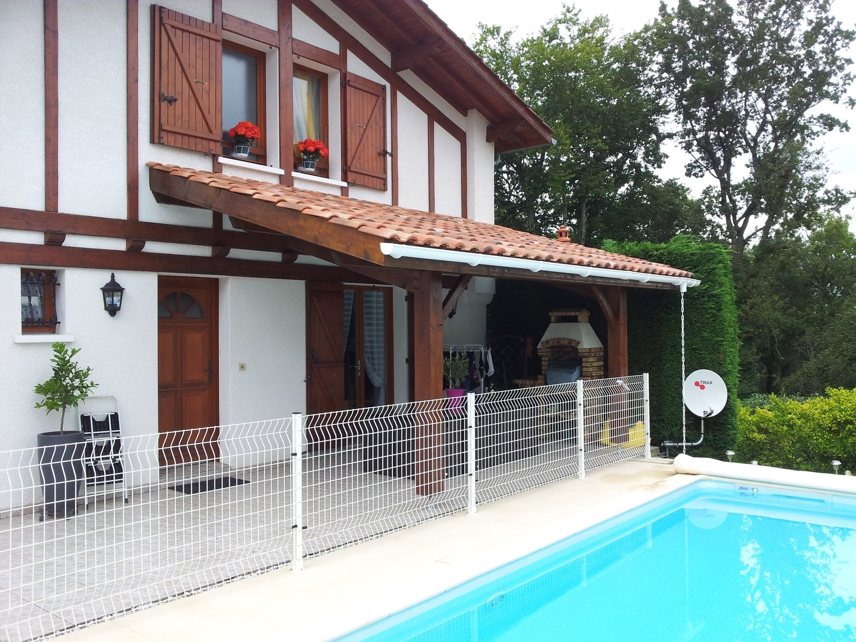 Avancement de toiture terrasse : Appentis