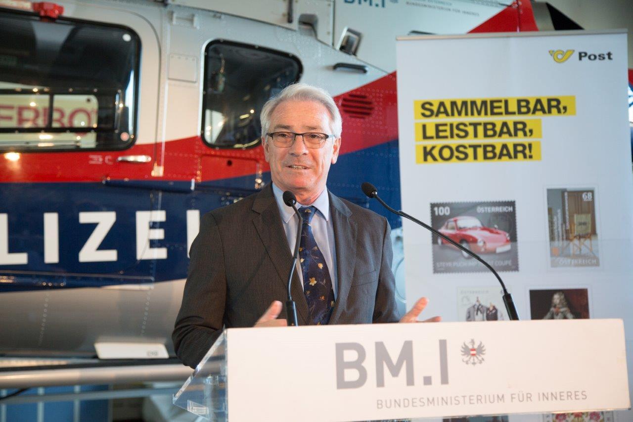 Gen.Dir. DI Dr. Georg Pölzl, Foto: M.Dietrich/BMI
