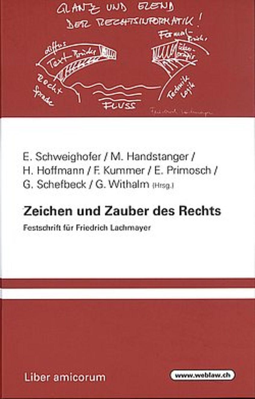 Beitrag in der Festschrift für Dr. Friedrich Lachmayer