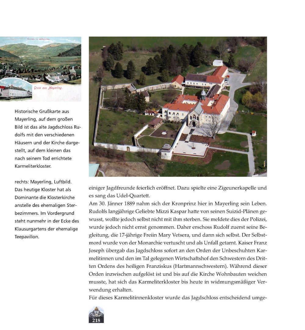 Luftbild von Mayerling, Foto Stefanie Grüssl