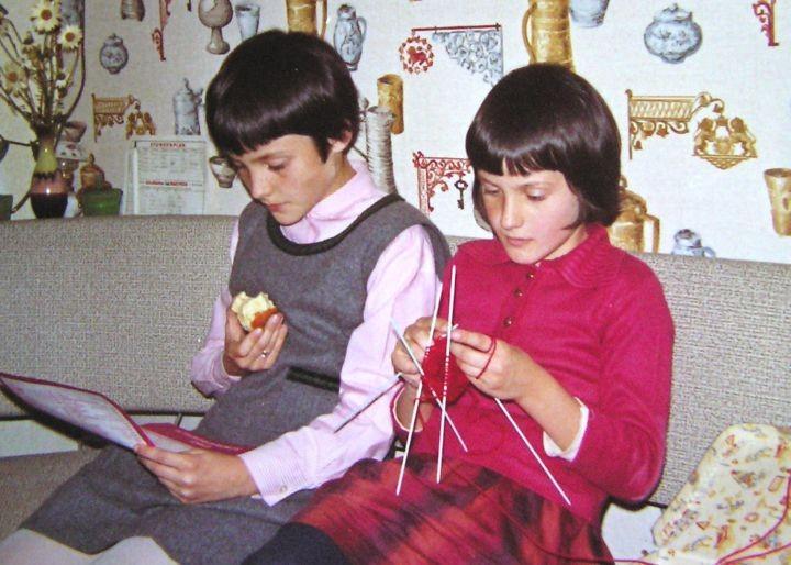 1972, mit Susanne, Foto: Gerald Wechtitsch