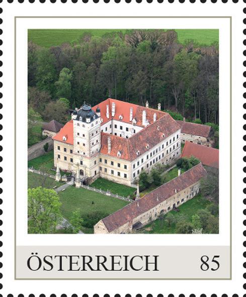 Einzelmarkenmotiv Schloss Greillenstein, Niederösterreich