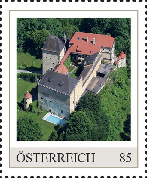 Einzelmarkenmotiv Burg Feistritz, Niederösterreich