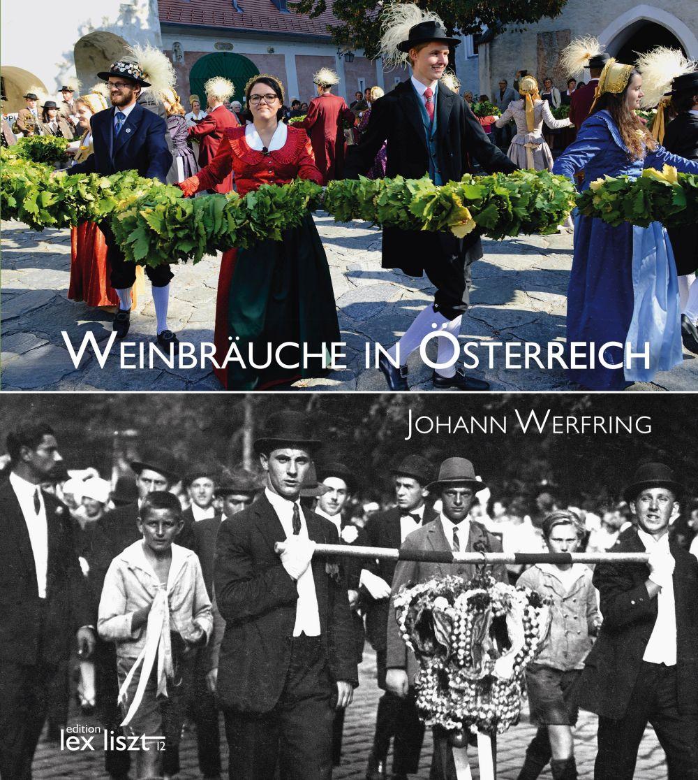 """Cover """"Weinbräuche in Österreich"""" von Johann Werfring"""
