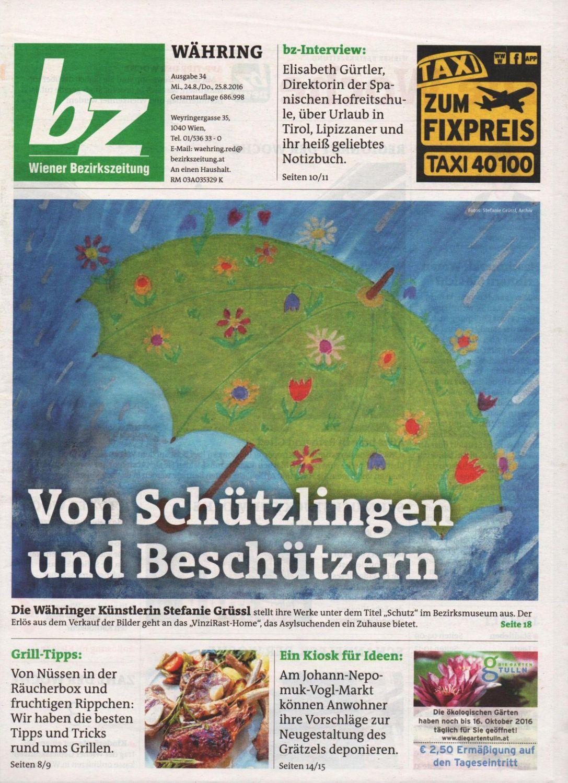 Bezirkszeitung 34-2016, Cover