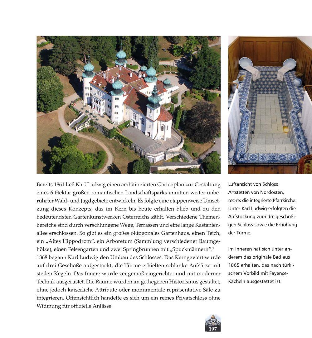 Luftbild Schloss Artstetten, Foto Stefanie Grüssl
