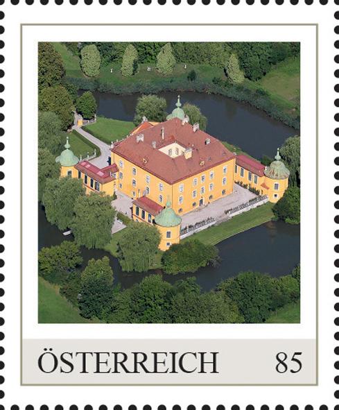 Einzelmarkenmotiv Wasserschloss Wasserburg, Niederösterreich