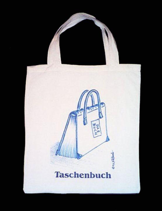 """Stofftasche """"Taschenbuch"""""""