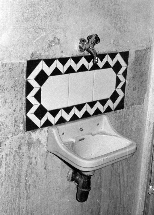 Erste Fliesenarbeit in Wien, 1982