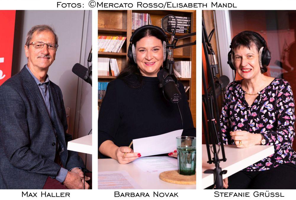 em.Univ.-Prof. Dr. Max Haller, Labg. Barbara Novak, Stefanie Grüssl