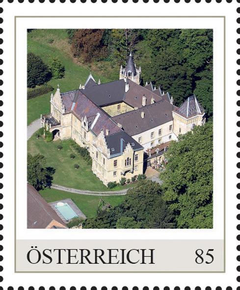 Einzelmarkenmotiv Schloss Wolfsthal, Niederösterreich