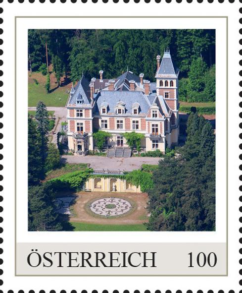 Einzelmarkenmotiv Schloss Wartholz, Niederösterreich
