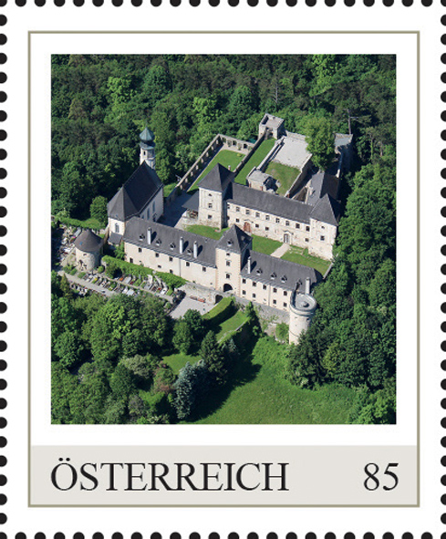 Einzelmarkenmotiv Burg Neuhaus, Niederösterreich