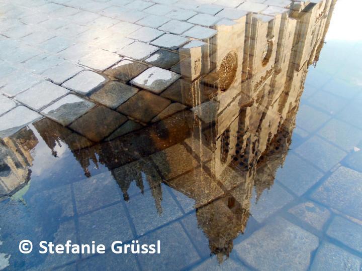 01 Spiegelung der Fassade im Wasser