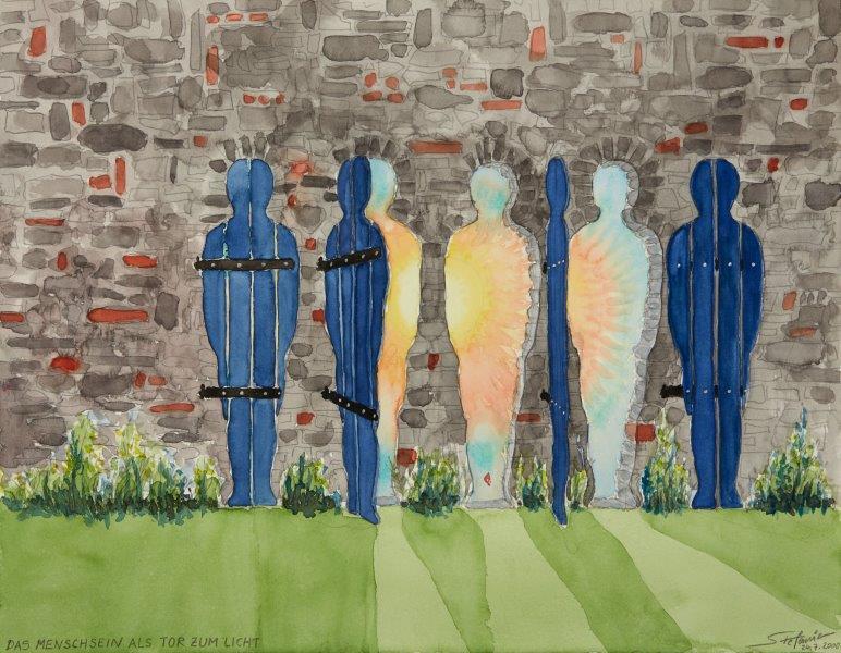 Das Menschsein als Tor zum Licht      (c) Stefanie Grüssl