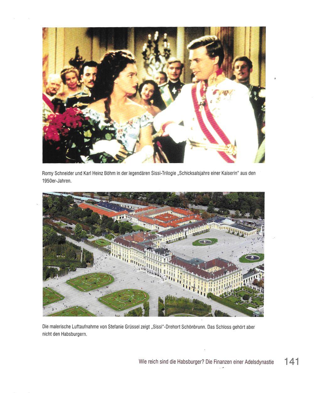 Luftbild von Schloss Schönbrunn © Stefanie Grüssl