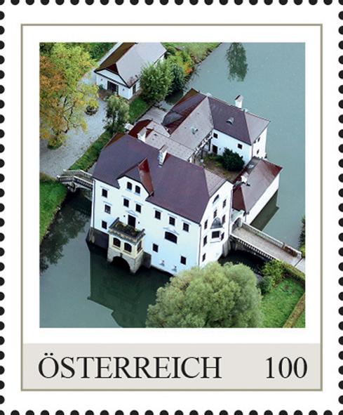 Einzelmarkenmotiv Wasserschloss Freisaal, Salzburg