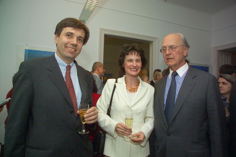 Dr. Matthias Tschirf, Stefanie Grüssl und Botschafter Dr. Franz Ceska