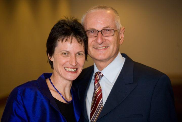 Ehepaar Stefanie und Gerald Grüssl