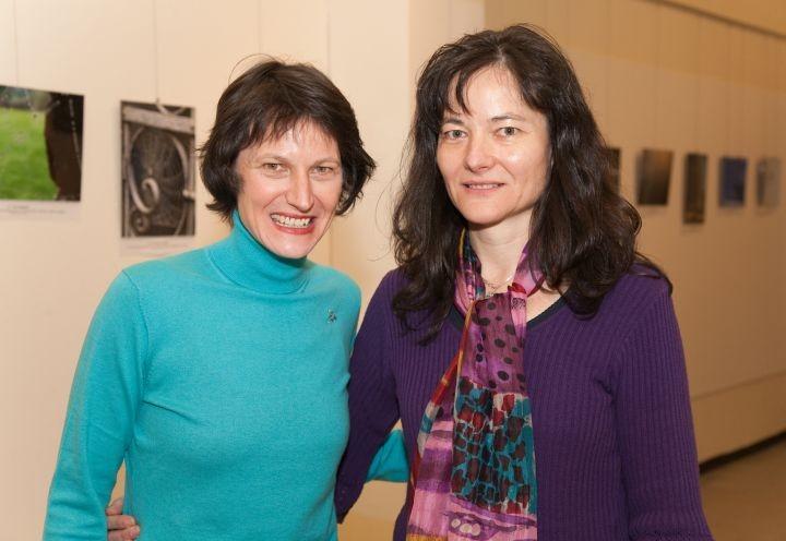 Künstlerschwestern: Stefanie Grüssl und Susanne Wechtitsch