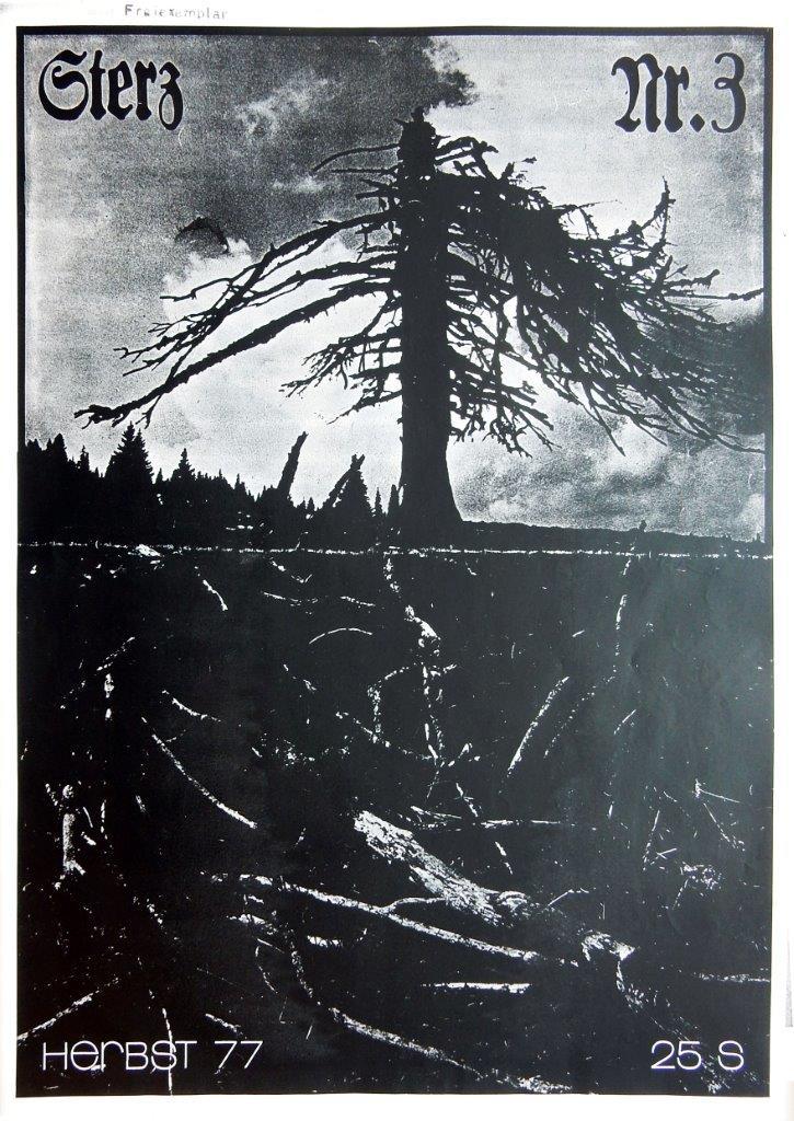 Wim van der Kallen Titelfoto, Sterz - Ausgabe Nr 3, 1977