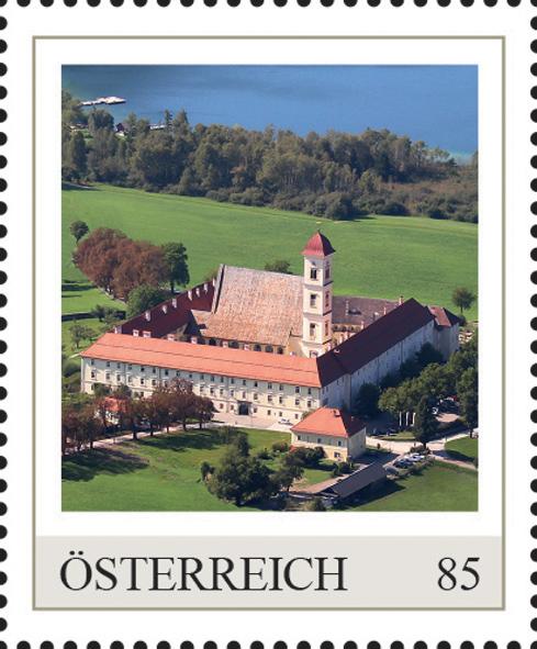 Einzelmarkenmotiv Stift St. Georgen am Längsee, Kärnten