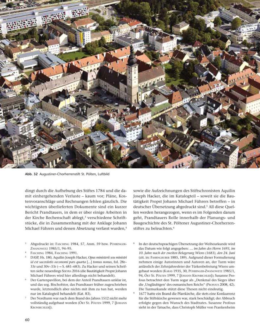 Augustiner-Chorherrenstift St. Pölten,  Luftbild © Stefanie Grüssl
