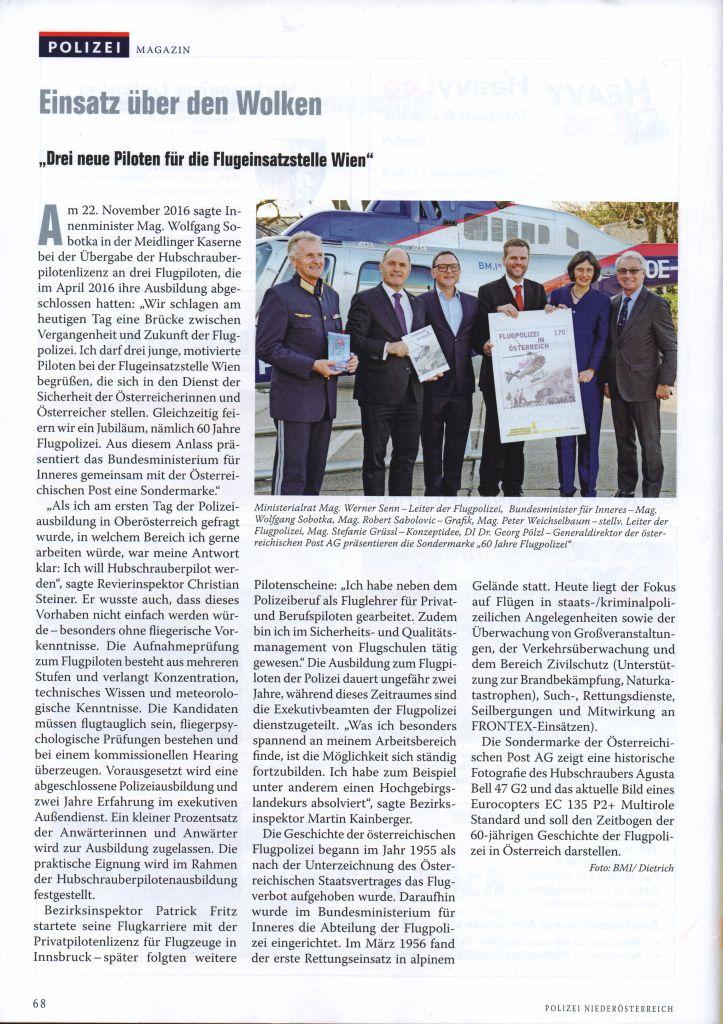 Polizei Niederösterreich Info-Magazin 2017/01