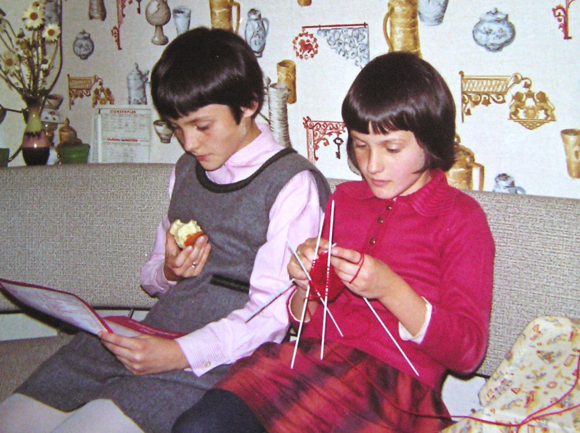 Die beiden Schwestern bei der Arbeit (Foto: Gerald Wechtitsch)