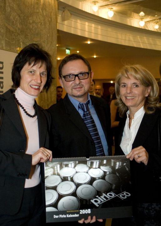 Stefanie Grüssl , Robert Sabolovic und Eva-Maria Glawischnig