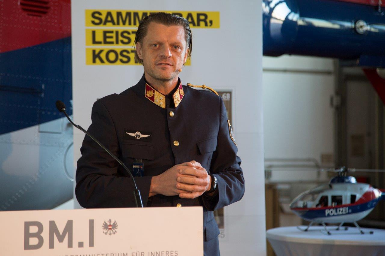 Moderator Oberst Rupert Gruber, Foto: M.Dietrich/BMI