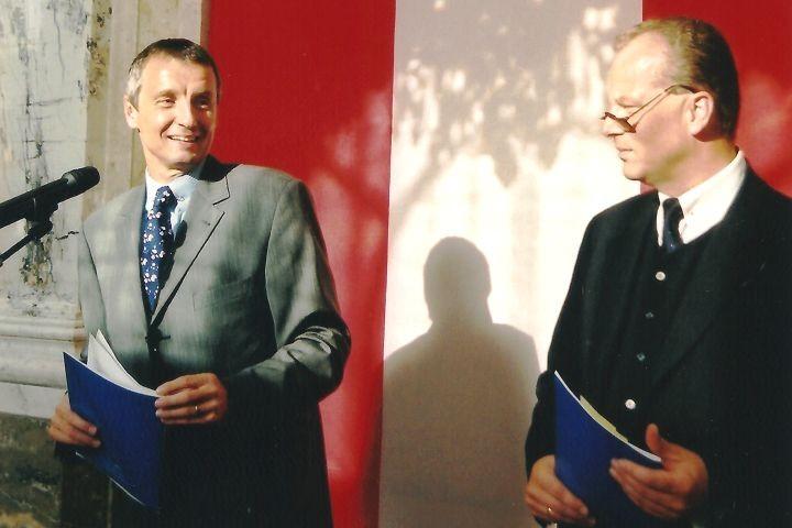 Bundesminister Dr. Martin Bartenstein