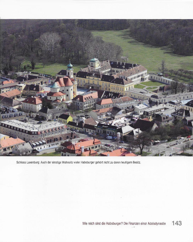 Luftbild von Schloss Laxenburg © Stefanie Grüssl