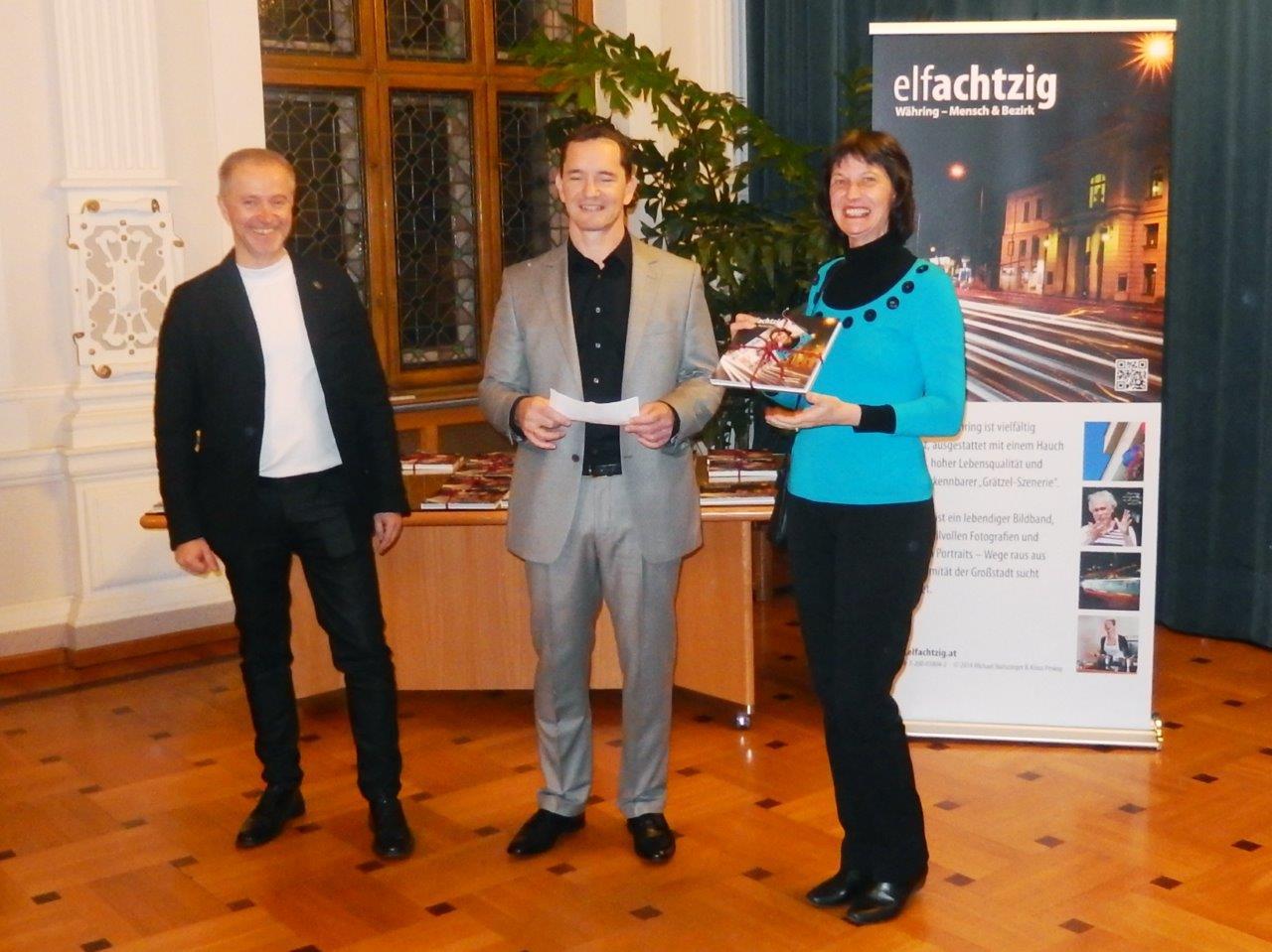Klaus Prokop, Michael Haitszinger und Stefanie Grüssl