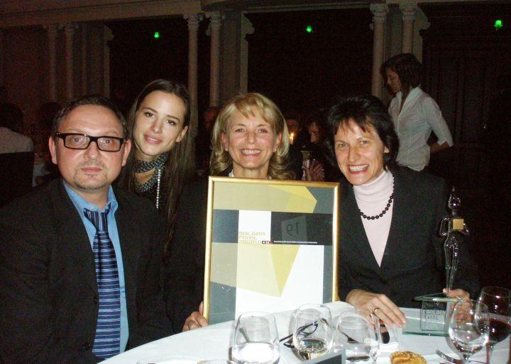 Robert Sabolovic, Eva-Maria Glawischnig und Stefanie Grüssl