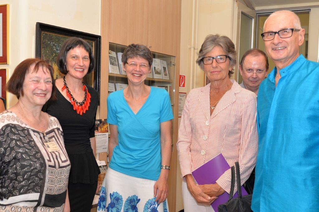 Doris Weis, Stefanie Grüssl, Silvia Nossek, Cecily Corti, Gerald Grüssl
