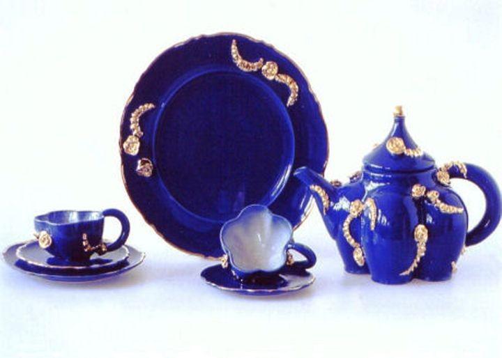 Teeservice für die Familie Kolig (Handmodelliert)
