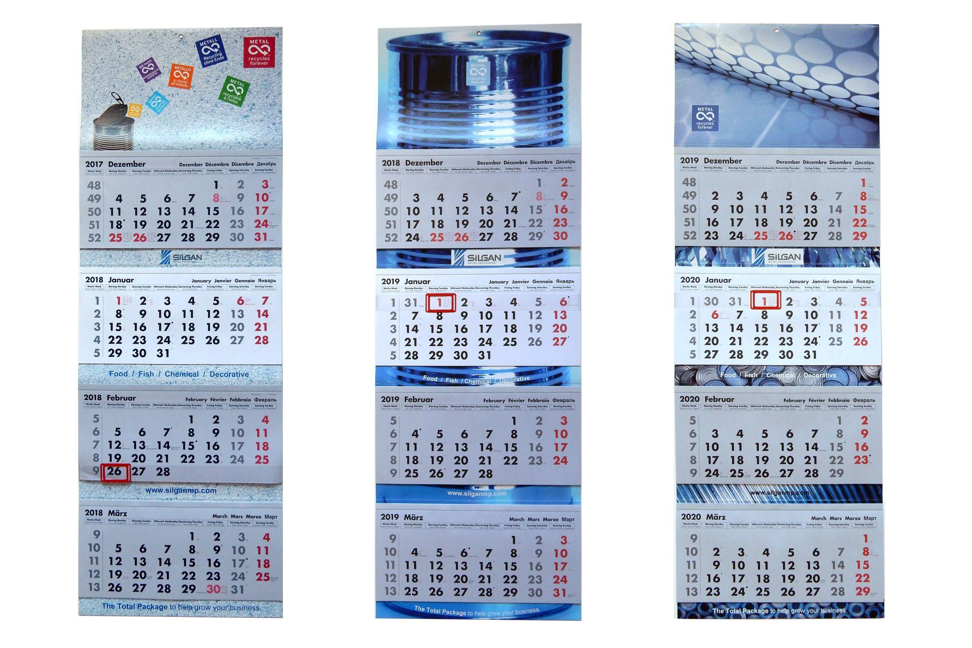 Silgan Kalender
