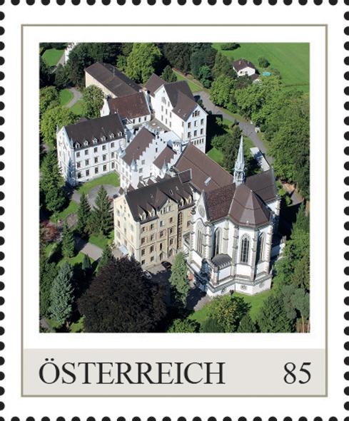 Einzelmarkenmotiv Kloster Sacre Coeur, Bregenz