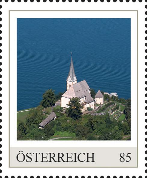 Einzelmarkenmotiv Klosterkirche Maria Wörth, Kärnten