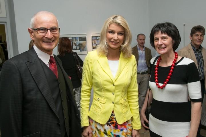 Gerald Grüssl, Elisabeth Vogel und Stefanie Grüssl