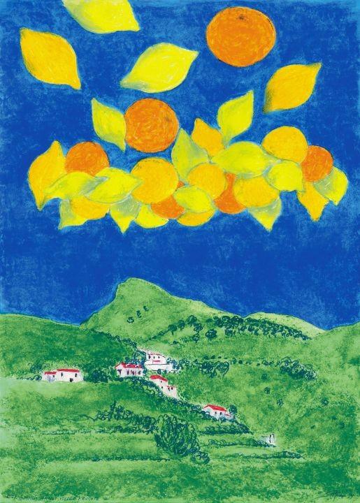 Der Himmel hängt voller Früchte / (c) Stefanie Grüssl