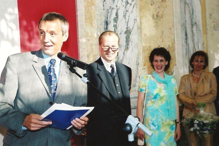 BM Bartenstein, Mag. Waschl, Stefanie Grüssl, Bärbl Waschl